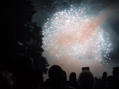 Fireworks in Luzern on my Birthday!