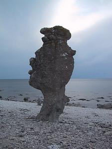 Langhammershammaren Rock in Faro, Sweden