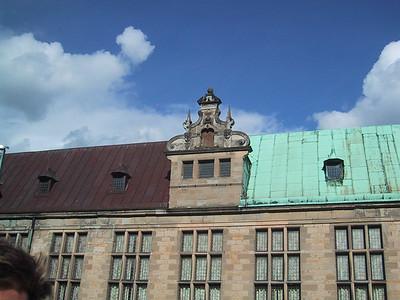 Two tone roof, Helsingor, Denmark