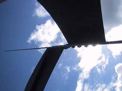 Underside of a giant Calder.