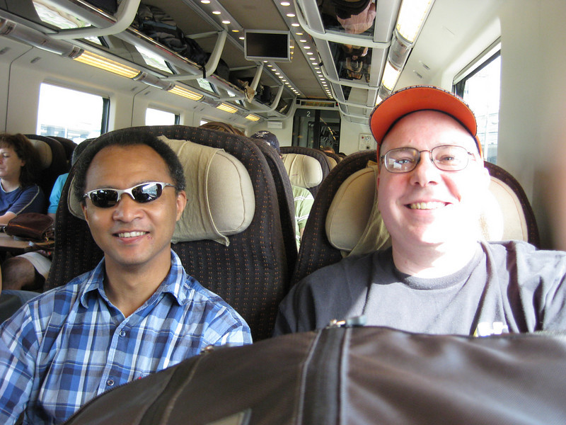 Day 4: Train ride from Rome to Florence