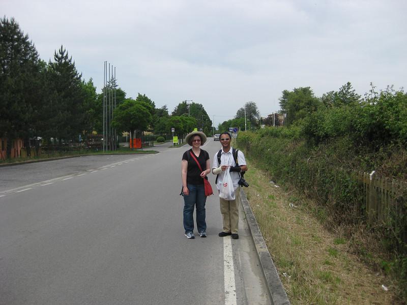 Walking back to Poggio