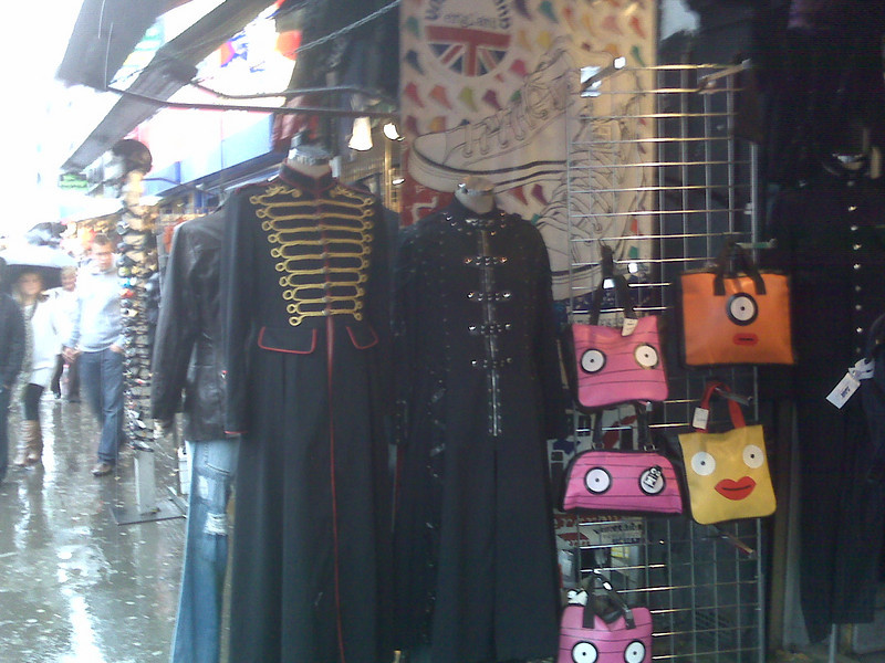 Some of the things you can buy at Camden Market.