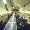 The London Underground is seriously underground.