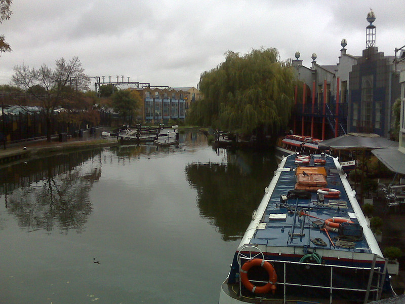 The canal at Camden