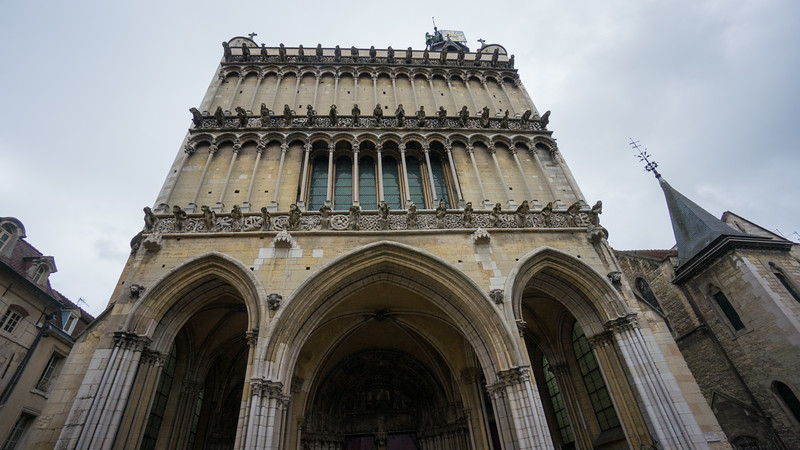 Dijon. Notre Dame. gargoyles. View 1.