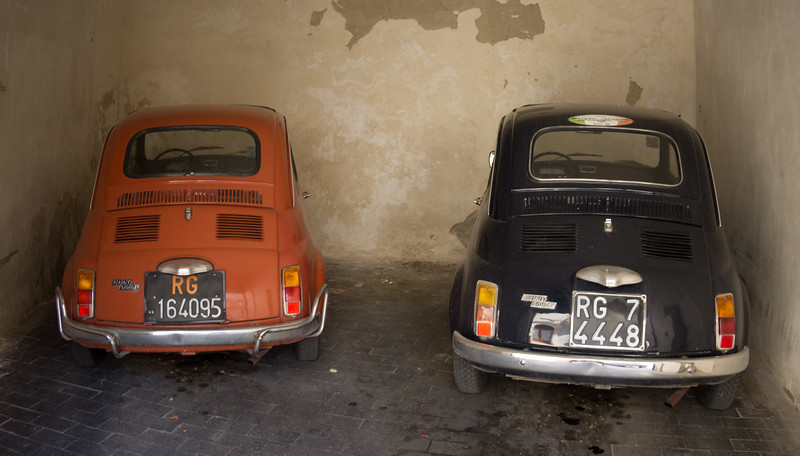 Italian Parking. Ragusa