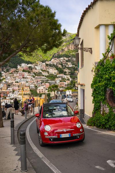 Amalfi Coast. The roads are a bit narrow.
