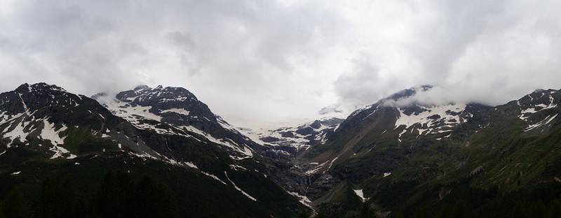 Bernina Express. Italy to Switzerland over the alps.