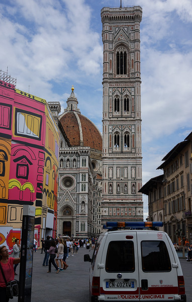 Florence. View of the Duomo 2.