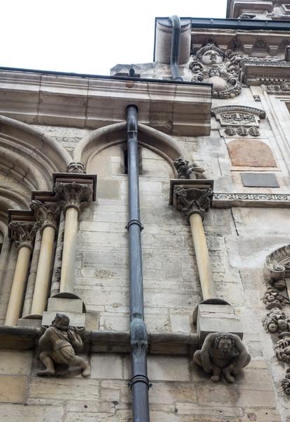 Dijon. Wall detail 1