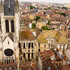 Dijon. From Ducal Palace tower. Note rooftile styles..