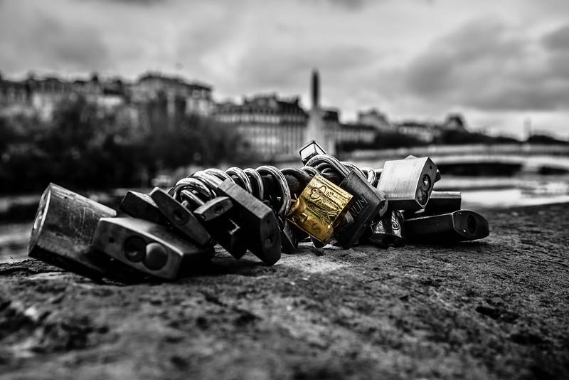 Locks Of Paris