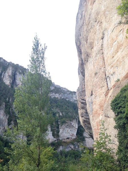 12/09/2017<br /> Today we headed to Gorge du Tarn for some climbing as the weather was a little showery and not ideal for multi-pitching.