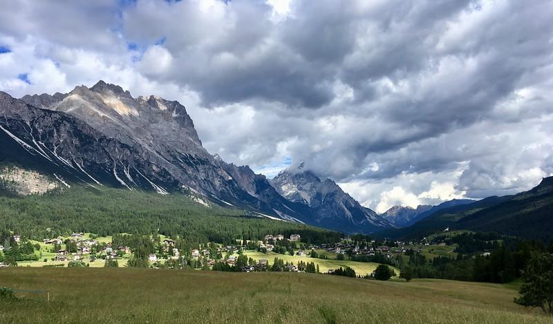 Finally back in Cortina!