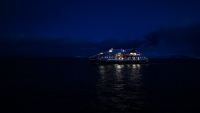 Passing ships in the night