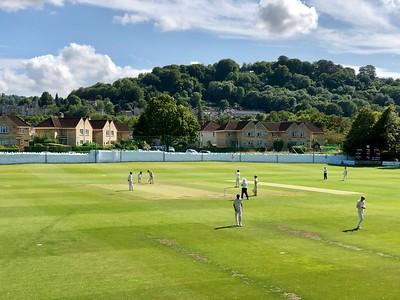 Cricket watching in Bath