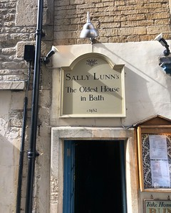Bath's oldest house, home of the famous Sally Lunn Bun and tearoom