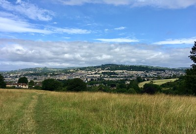 Bath Skyline walk is super picturesque