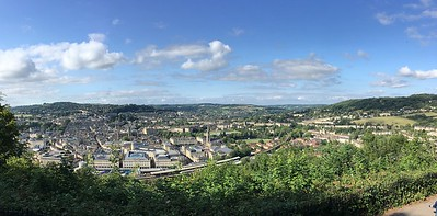 Bath views from Alexandra Park lookout