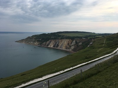 Views over Alum Bay
