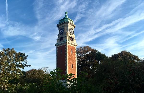 Queen's Park clock tower