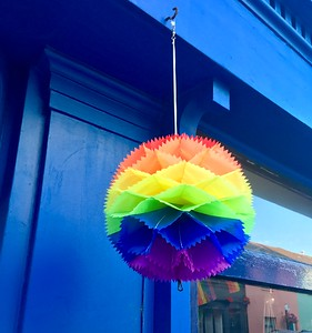 Brighton preparing for the Pride weekend