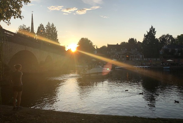 Sunset in Wallingford