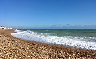 Windy day in Brighton