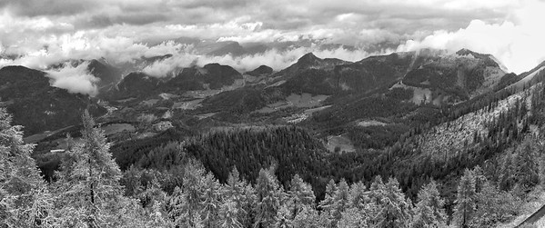 View from Eagle's  Nest,  Berchtesgaden