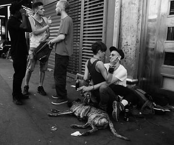 Paris street scene.