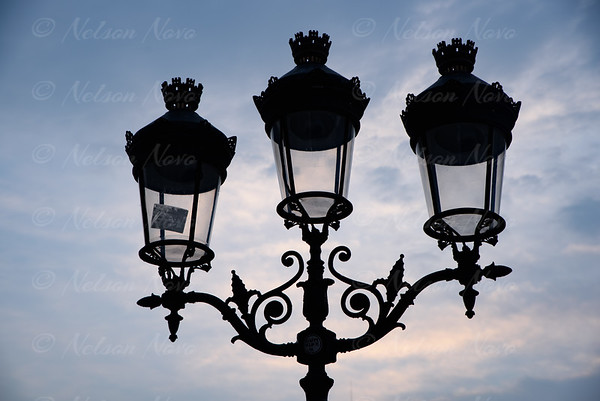 Notre Dame Street Lamps