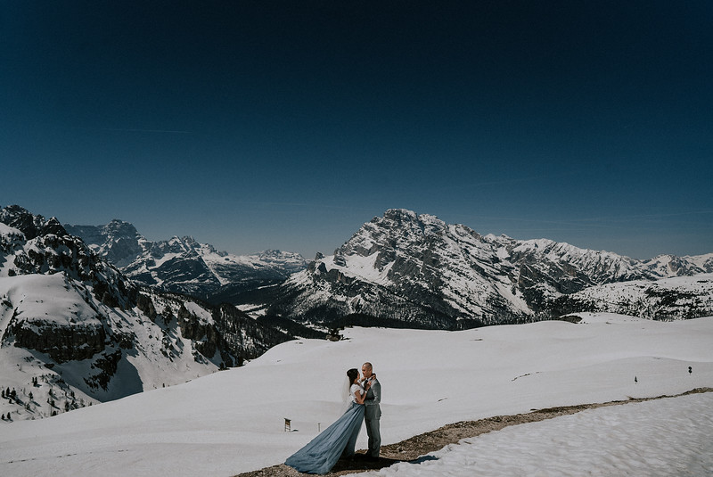 Elopement Wedding in  Llogara National Park