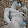 Copy of Michelangelo's David in front of Palazzo Vecchio