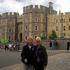 Mom and me at Windsor Castle