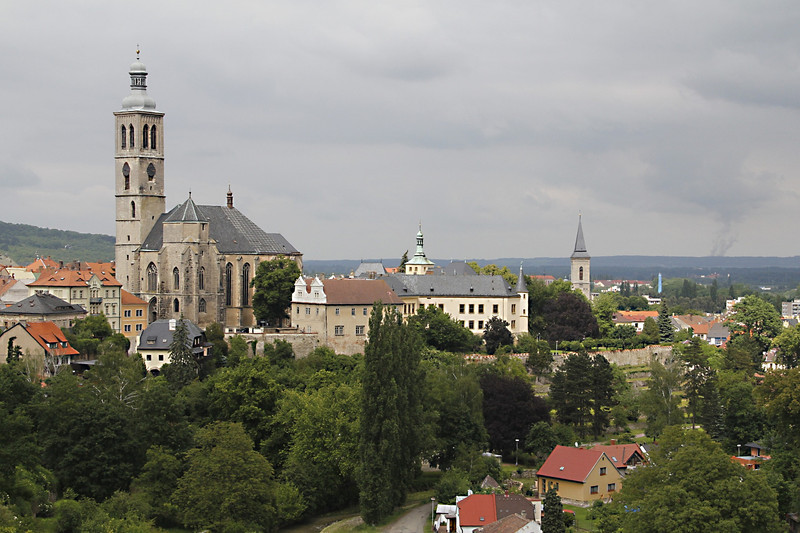 View of Kutna hora church