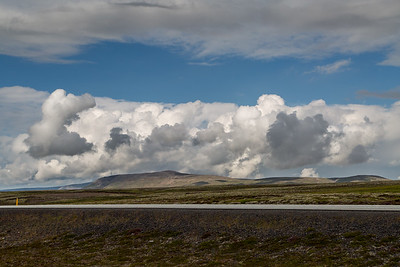 clouds, iceland