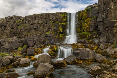 Okarafoss, Pingvellir, Iceland