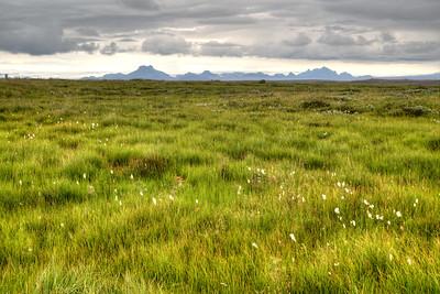 Mountains entering Gullfoss