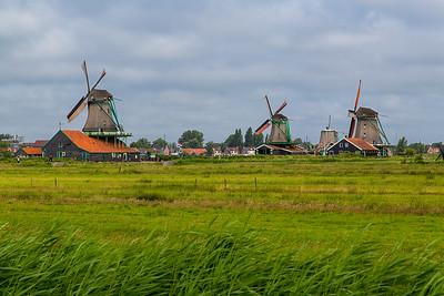 Still-working windmills:  sawmills, grain mills