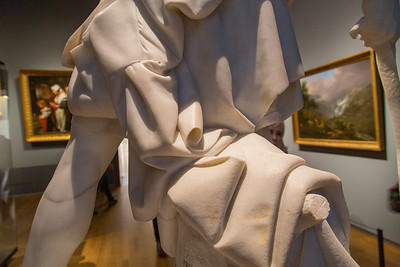 At the Rijksmuseum. David in marble