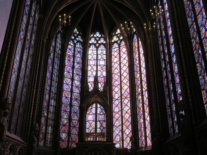 490 - Sainte-Chapelle - Upstairs-Chapel-Windows-1