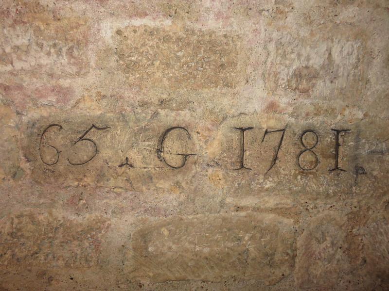 463 - Paris-Catacombs - Quarry-Path-Est-1781