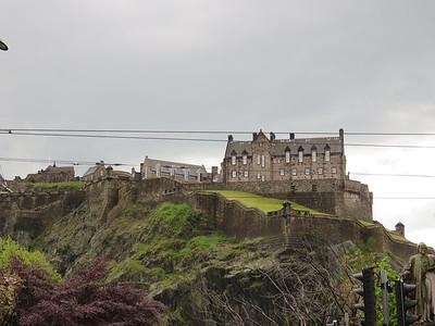 0013 - Edinburgh Castle from Princes Street