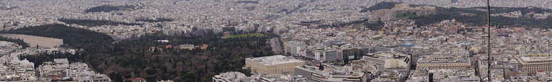 012 - Athens - Lycabettus Hill Panorama 2