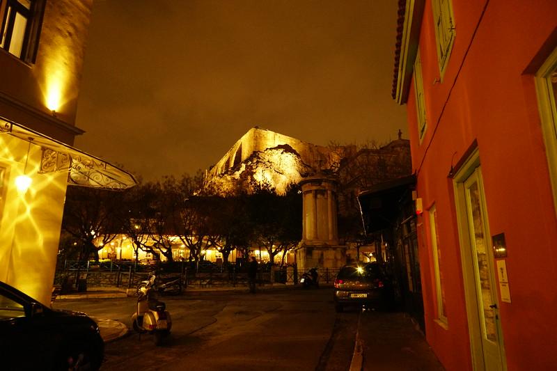 014 - Athens - Acropolis at Night