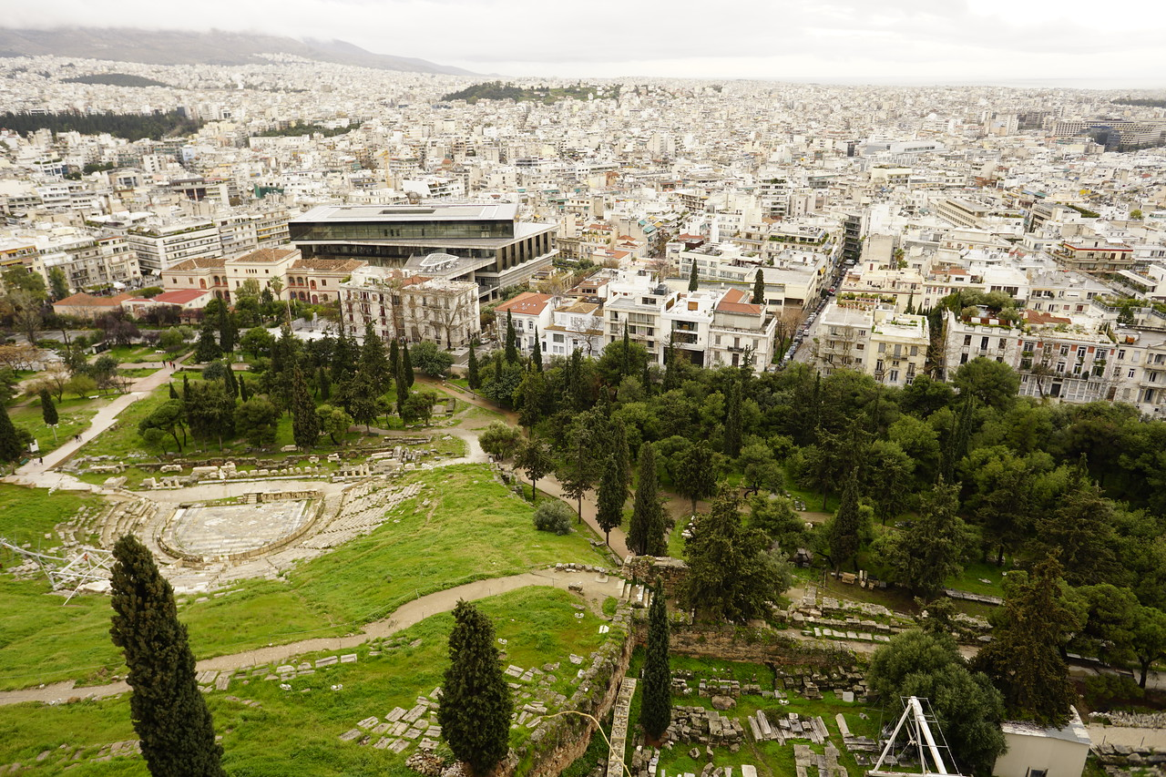 028 - Acropolis - Theater of Dionysus and Acropolis Museum