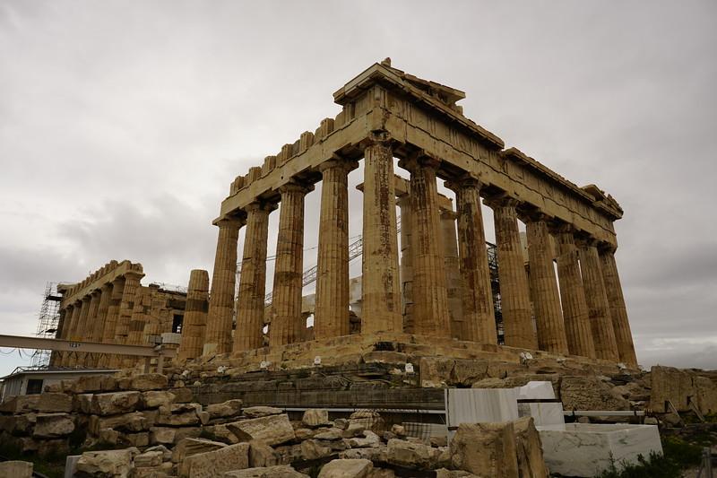 029 - Acropolis - Parthenon SE Corner