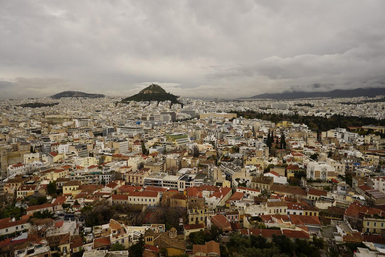 037 - Acropolis - Lycabettus Hill from Acropolis