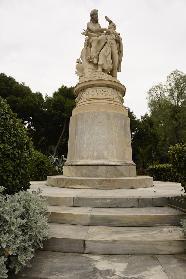001 - Athens - Statue of Lord Byron
